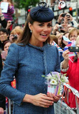 Kate Middleton ressort son manteau Missoni le 13 juin 2012
