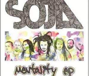 Voici la pochette de l'EP de SOJA intitulé Mentality