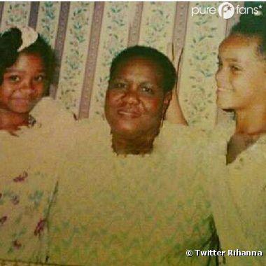 Rihanna et sa mamie