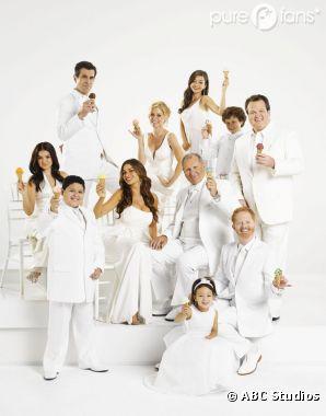 Les acteurs de Modern Family font la grève mais travaillent !
