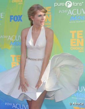 Taylor Swift vit pour l'instant une histoire d'amour sans nuage