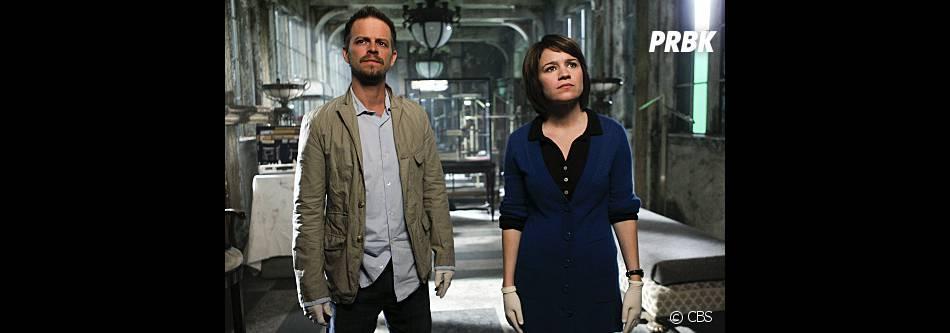 Lindsay et Danny au coeur d'un épisode de la saison 9 des Experts : Manhattan