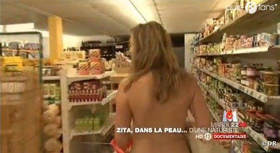 Zita devra se merttre à nu sur l'île du Levant !