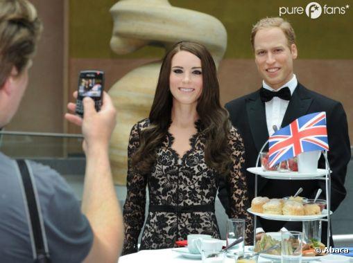 Les statues de cire berlinoises de Kate Middleton et du Prince William
