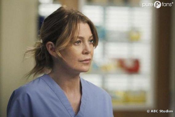 Meredith à fond dans le travail pour la saison 9 de Grey's Anatomy !