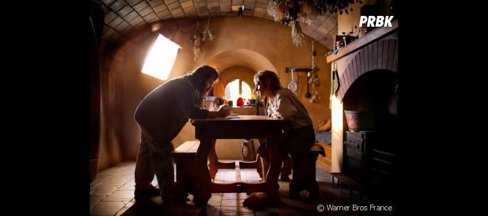 Dans les coulisses du tournage du film Le Hobbit