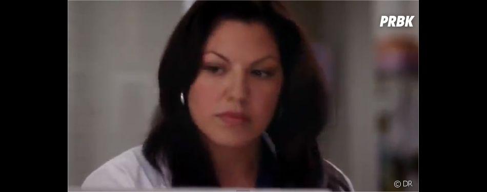 Callie dans un extrait de la saison 9 de Grey's Anatomy