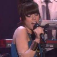 """Carly Rae Jepsen : Le premier live de """"This Kiss"""" ! (VIDEO)"""