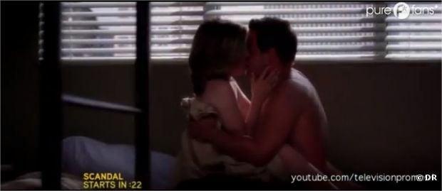 Ambiance hot dans l'épisode 3 de la saison 9 de Grey's Anatomy