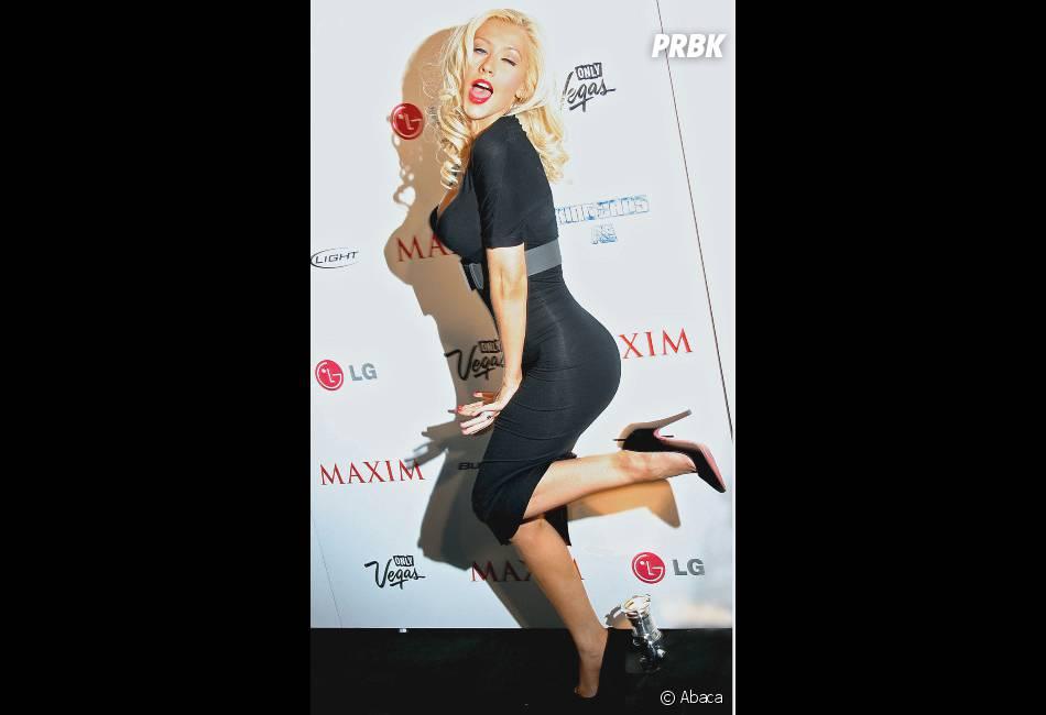 Christina Aguilera : Son ancien look à la Marylin Monroe, trop belle !