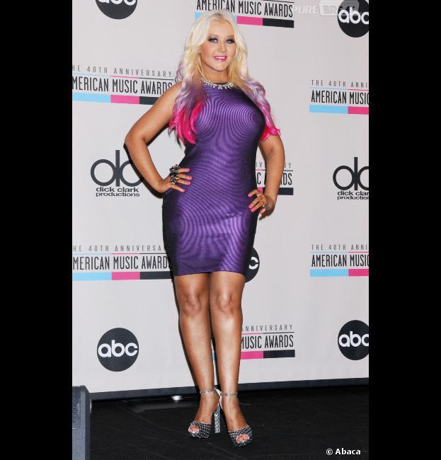 Christina Aguilera : 20 mètres de hauteur sur 20 mètres de largeur comme dirait Elie Kakou