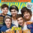 Les One Direction en Une du magazine Seventeen