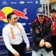 Sebastian Vettel, déjà accro au Gangnam Style