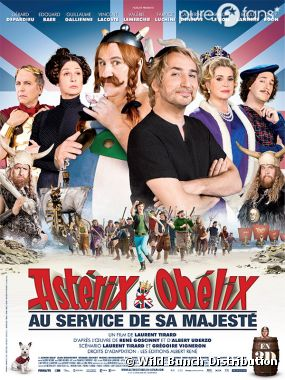 Astérix et Obélix au service de sa Majesté est au cinéma actuellement