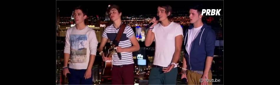 Union J : Les finalistes d'X-Factor se rapprochent du succès des One D
