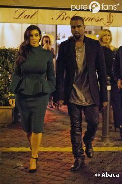 Kim Kardashian et Kanye West sont en escapade en amoureux !