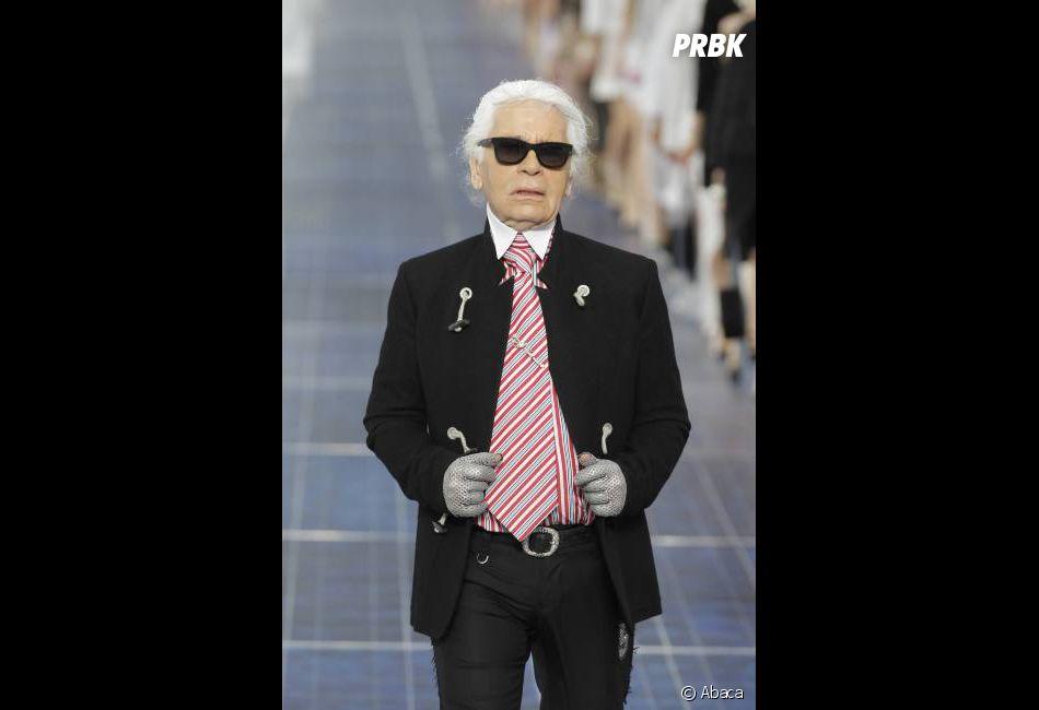 Karl Lagerfeld fait marche arrière