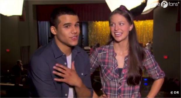 Dans les coulisses de l'épisode 5 de la saison 4 de Glee avec les acteurs !