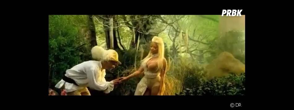 Nicki Minaj nous entraîne dans un monde féerique !