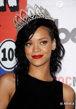 Rihanna peut aussi être un ange !