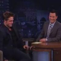 Robert Pattinson : sous l'effet de la vodka, il se lâche à la télévision américaine (VIDEO)