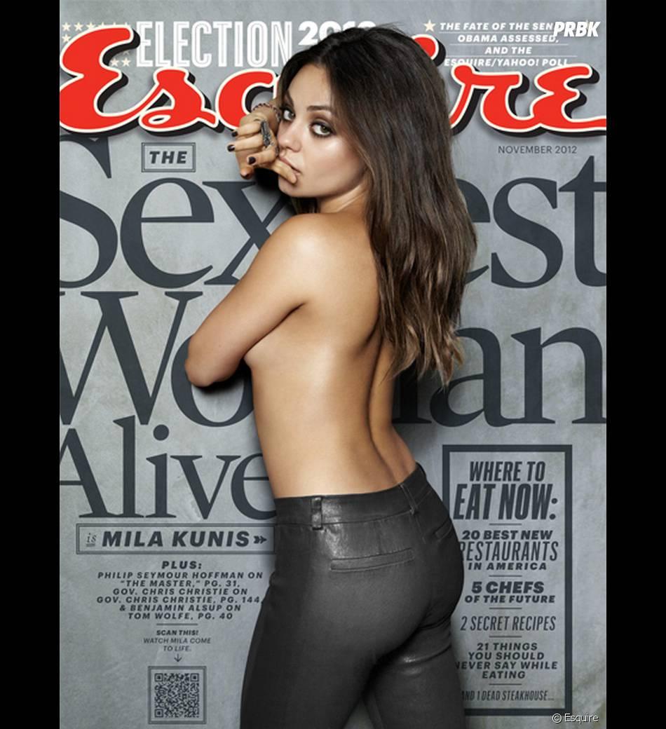 Mila Kunis femme la plus sexy de 2012