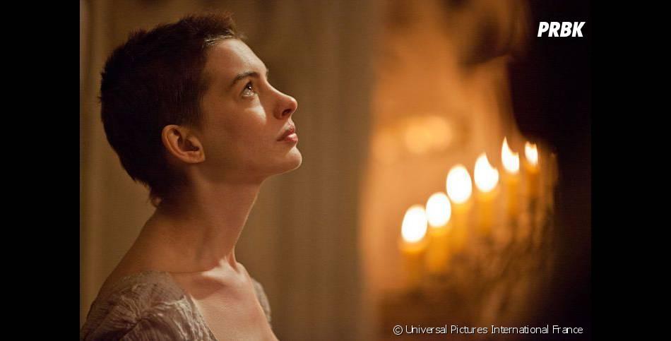 Anne Hathaway touchante et tragique dans Les Misérables
