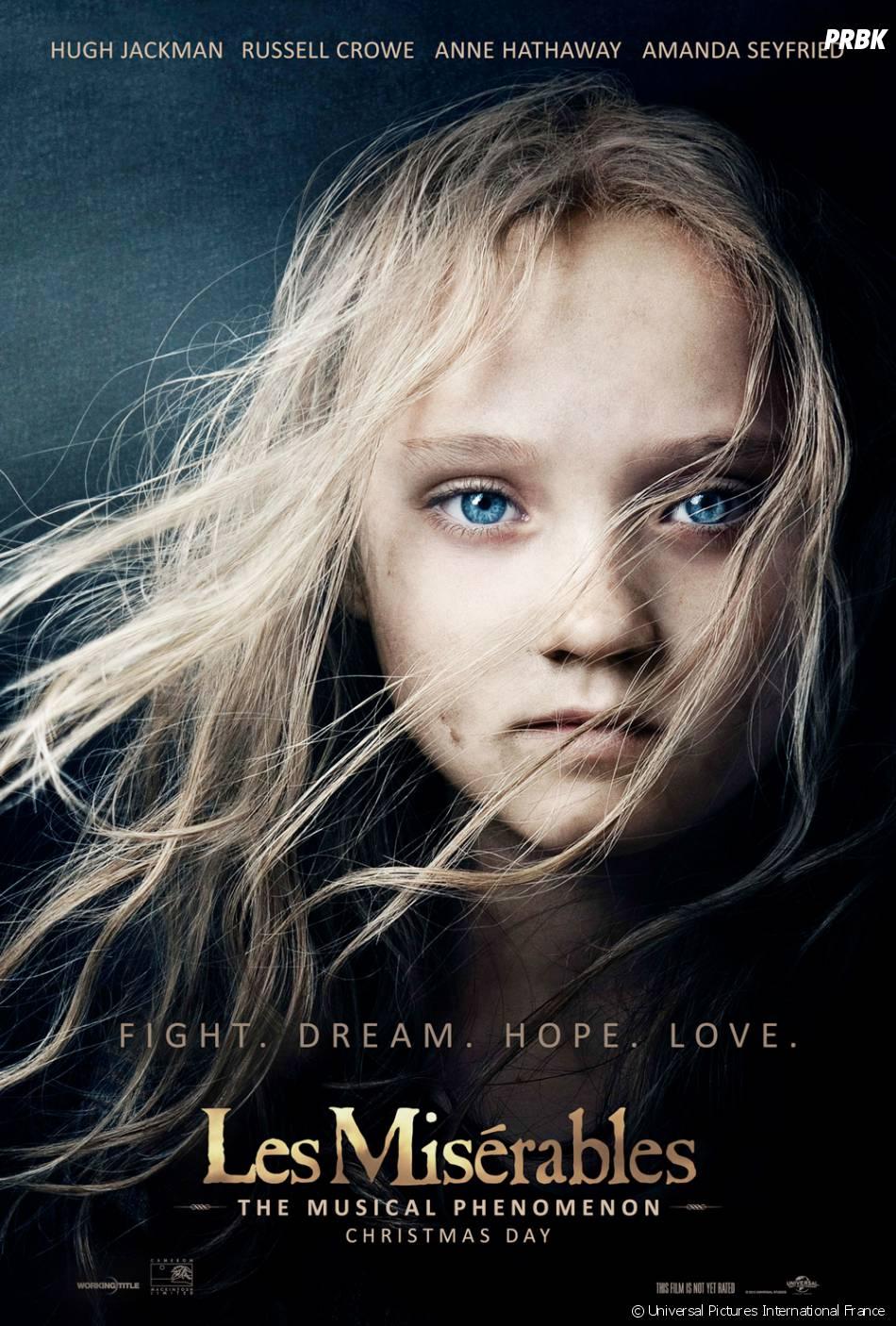 L'affiche du film Les Misérables, en salles le 13 février prochain