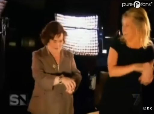 Susan Boyle : la preuve par l'image que le ridicule ne tue pas