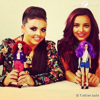 Little Mix : Jesy et Jade, photos party avec leur poupée