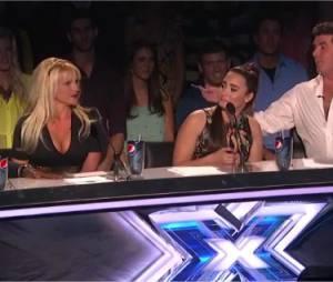 Demi Lovato : Mini clash avec un autre coach sur le plateau d'X Factor US 2012