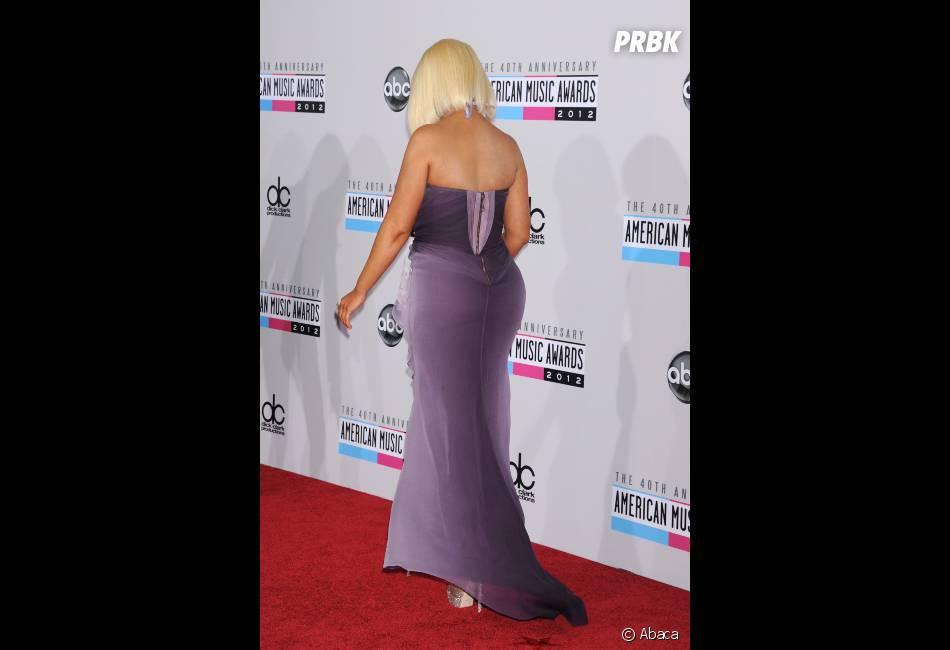 Christina Aguilera, pas à son avantage aux AMA 2012