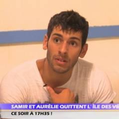 L'Ile des vérités 2 : Samir et Aurélie décident de quitter la villa ! (VIDEO)