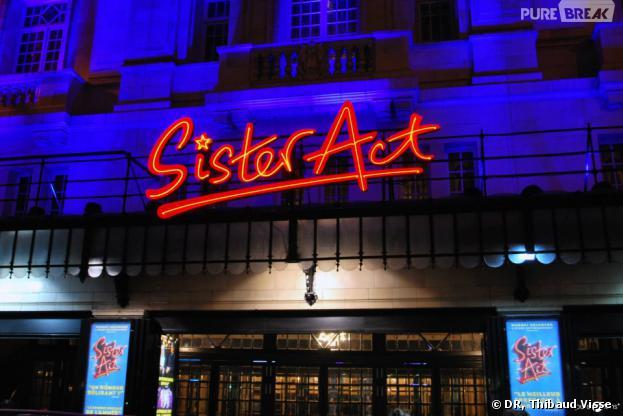 Sister Act s'affiche fièrement devant Mogador !