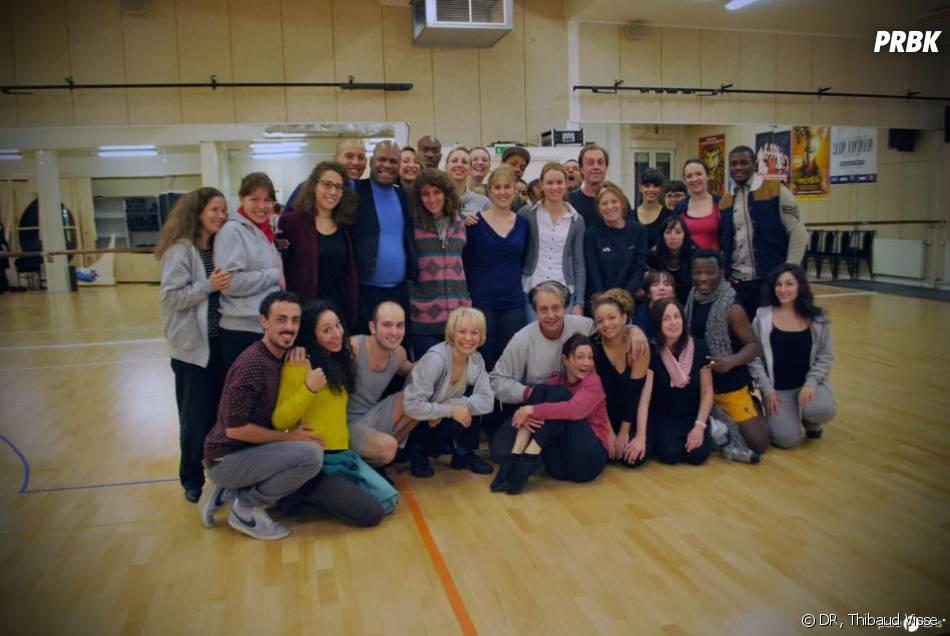 Nos gagnantes avec la troupe de Sister Act !