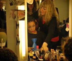 Dolorès Van Cartier prend vie au maquillage !