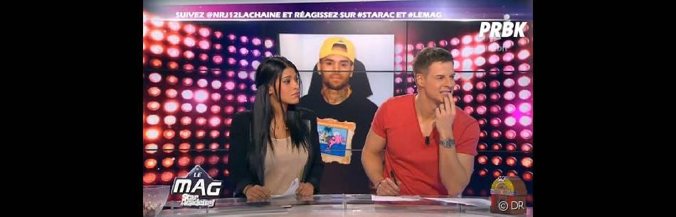 Pas étonnant qu'Ayem ait pris la défense de Chris Brown sur le plateau du Mag !