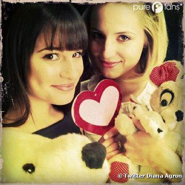 Rachel et Quinn nues dans Glee ?