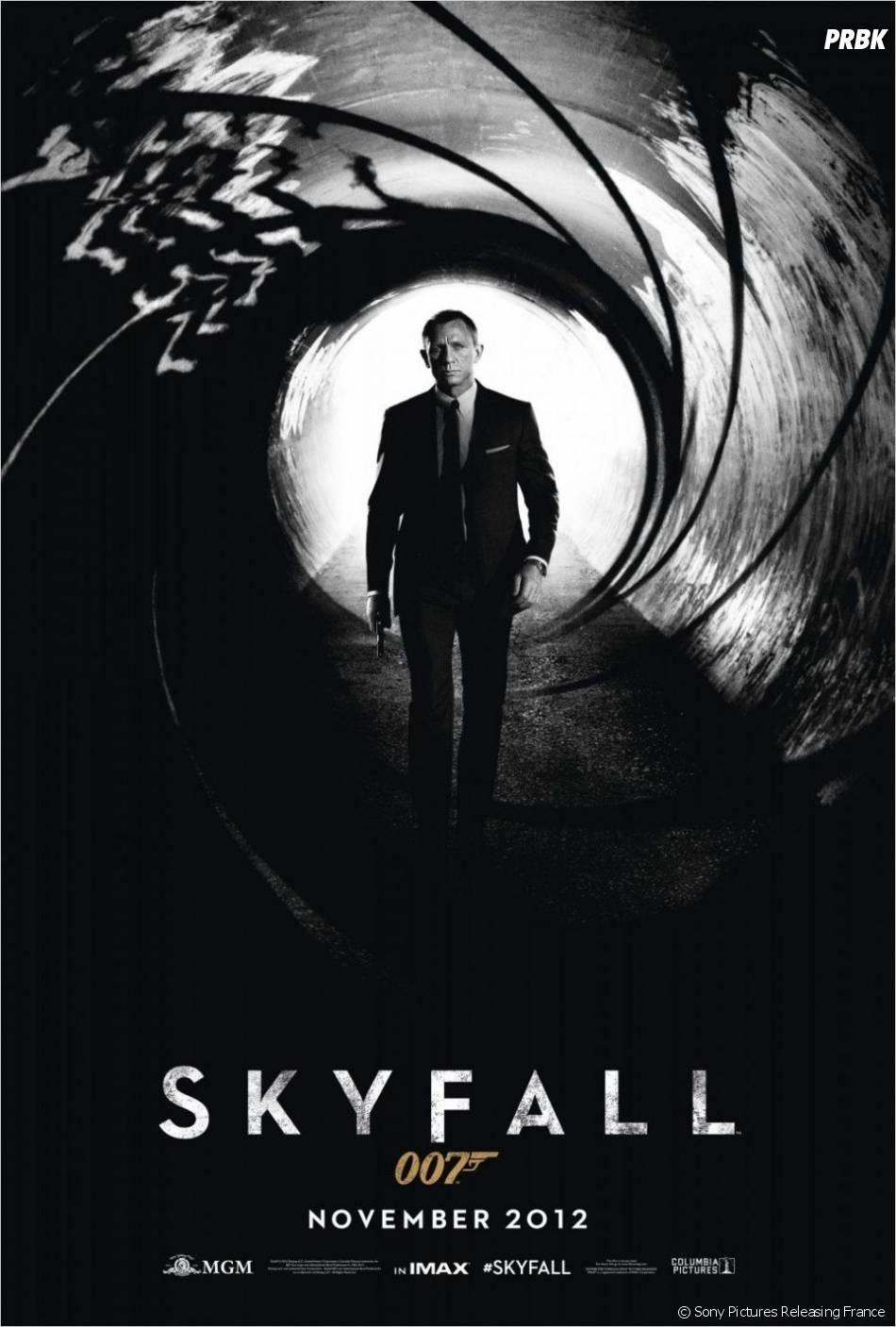 Skyfall, film numéro 1 du box-office en 2012 !