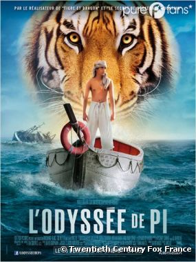 L'Odyssée de Pi sort aujourd'hui au cinéma
