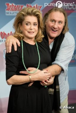 Catherine Deneuve soutient Gérard Depardieu