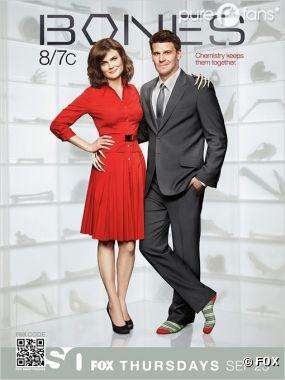 David Boreanaz et Emily Deschanel sont les acteurs préférés de 2012