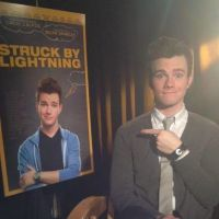 Glee - Chris Colfer excité : son 1er film, Struck by Lightning, débarque aux US
