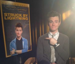 Chris Colfer présente Struck by Lightning