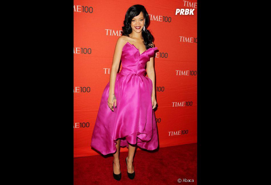 Rihanna n'aura jamais sa langue dans sa poche !
