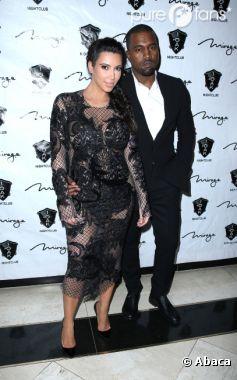 Kim Kardashian et Kanye West ne veulent pas de leur bébé à la télé