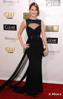 Jennifer Lawrence aux Critics's Choice Awards 2013