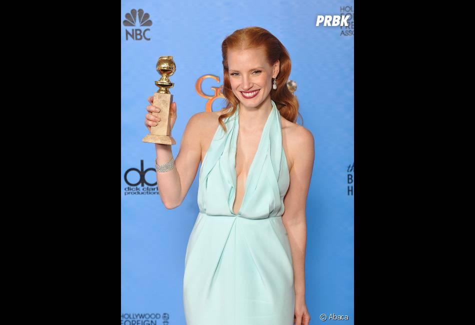 Jessica Chastain remporte le prix de Meilleure actrice dans un film dramatique