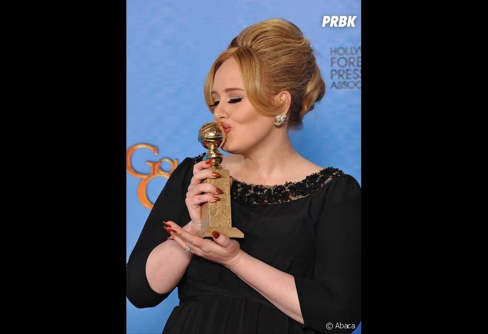 Adele, Meilleure chanson pour Skyfall aux Golden Globes 2013