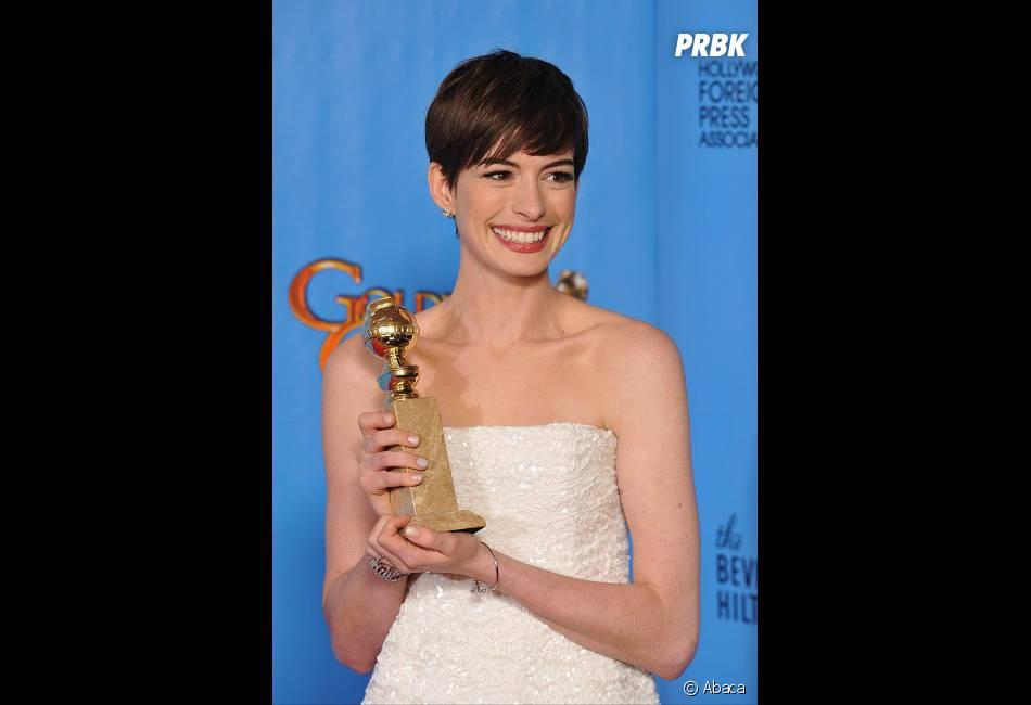 Anne Hathaway, Meilleur second rôle féminin aux Golden Globes 2013